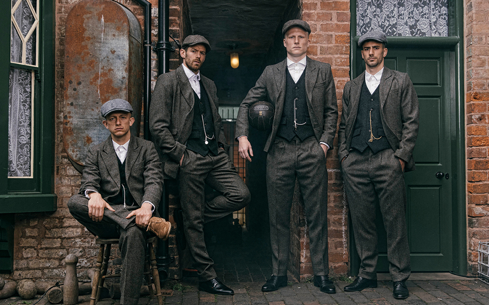Wedding suits inspired by the Peaky Blinders! | TaxiSnaps